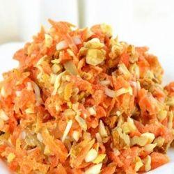 Салат из вареной морковки